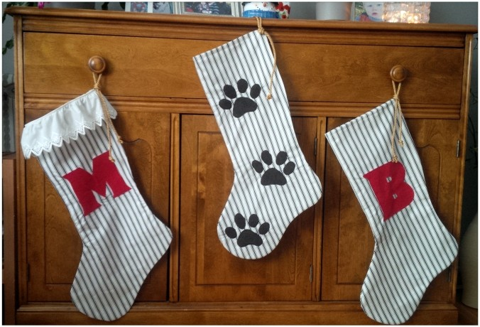 Custom Christmas Stockings | www.jenniferdyck.com