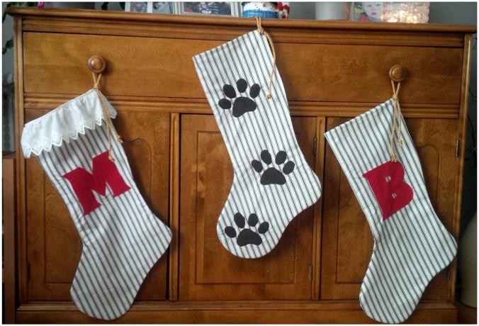 Custom Christmas Stockings | www.jenniferdyck.com