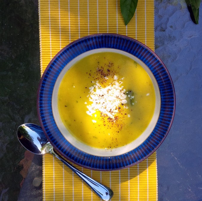Patty Pan Squash Soup | www.jenniferdyck.com