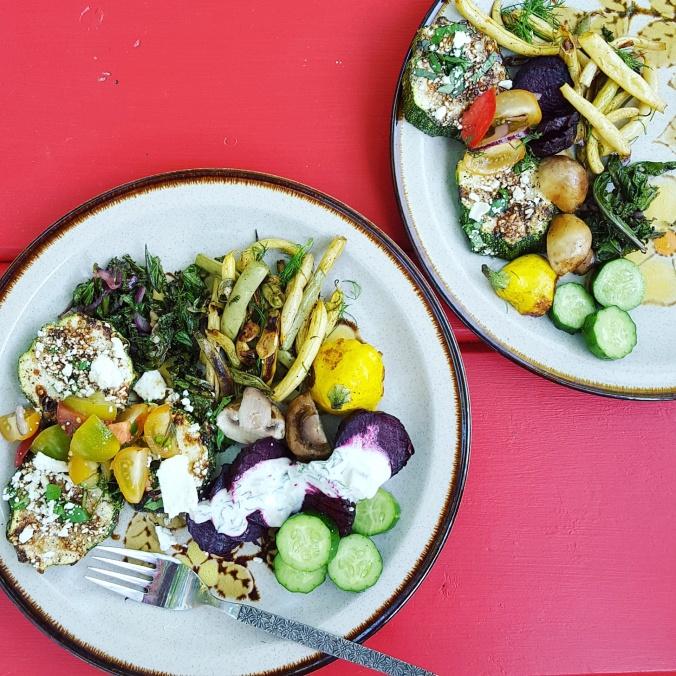 CSA veggies-dinner-2016 | www.jenniferdyck.com